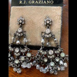 RJ Graziano chandelier earrings